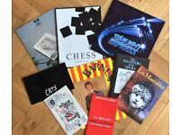 BUNDLE RARE 1980s MUSICALS PROGRAMMES CHESS STARLIGHT CATS BARNUM PHANTOM LES MISERABLES EVITA