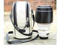 Canon EF 100-400mm f/4.5-5.6L IS USM Lens (Mk1) with spare Hood