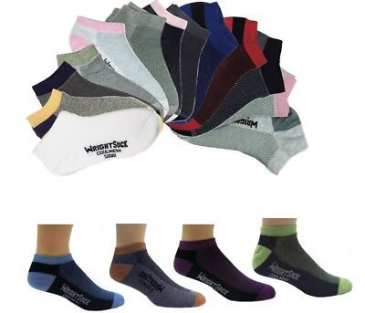 Wrightsock 504 Double Layer Coolmesh Low Quarter Sock 3/Pack