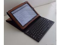 Kensington KeyFolio Pro 2 Bluetooth removable keyboard for iPad Air & Air 2 UK layout with case