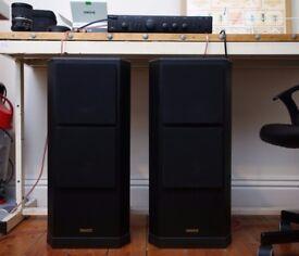 Tannoy 611 MK2 Floor Speakers + Arcam Alpha 5 Amplifier