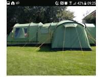 Vango kasari 600 + footprint + extended porch + carpet £300 ono