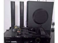 Pioneer 3D Blu-Ray 2.1 Home Theatre Sound System (XV-BD521FSW) - Optional Bluetooth adapter - Bluray