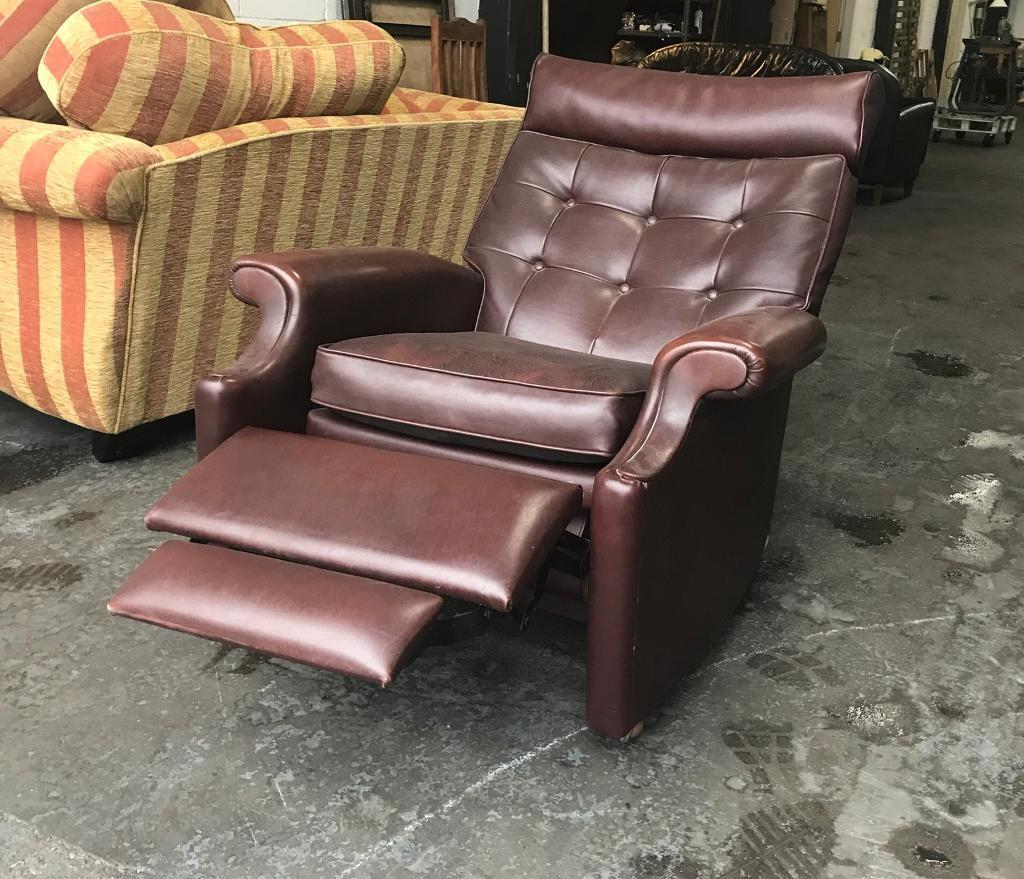 Parker Knowledge Chesterfield Recliner Chair Can Deliver