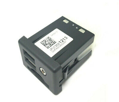 Genuine GM Center Console Auxiliary Jack Dual USB SD Card Input Port New OEM