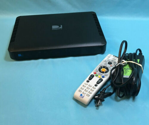 DirecTV HR44-200 HD DVR Digital Satellite TV Receiver w/ Remote & AC Adapter