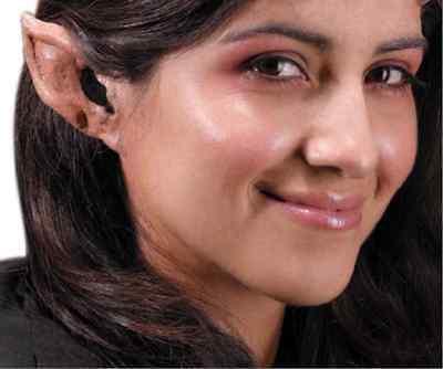 Fantasy Ears Latex Ears Demon Life-Like Elf Ears New by Rubies Ears Only