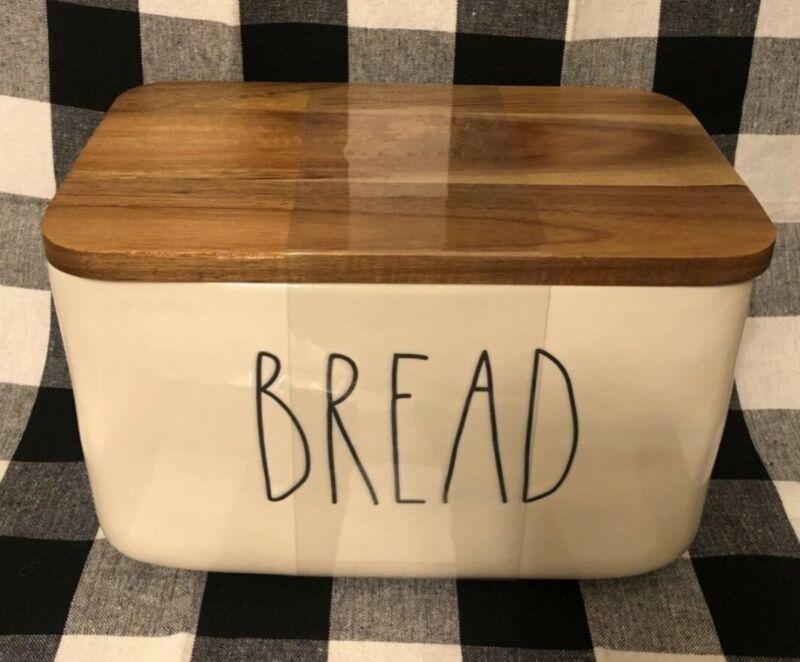 Rae Dunn HTF ***Bread Box*** 2020 Release NEW Farmhouse