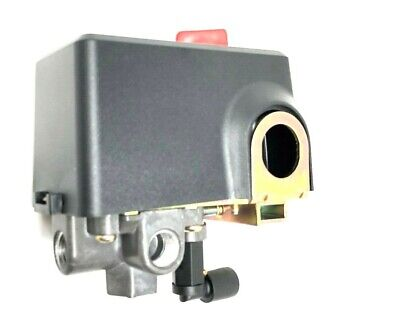 Two Stage Air Compressor Pressure Switch 140 Psi On-175 Psi Off 14 4 Port