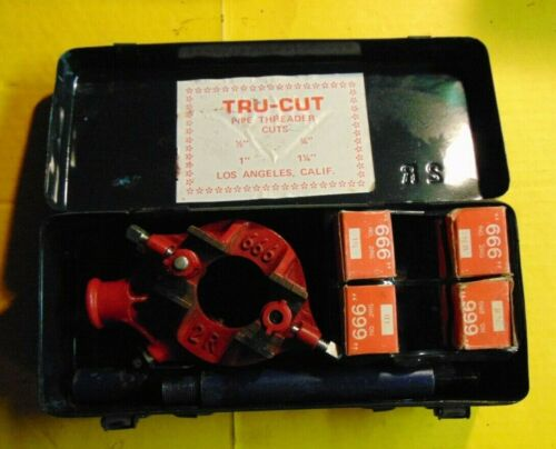 "Tru-cut Pipe Threader Kit 1/2"" 3/4"" 1"" 1 1/4"""