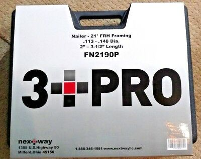 3pro Framing Air Nailer - New In Protective Case