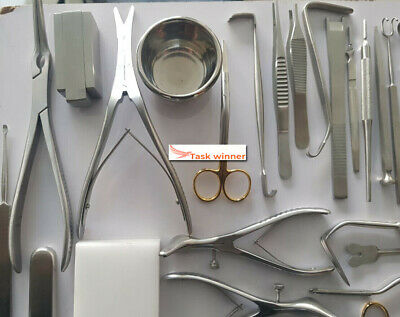 Best Quality Rhinoplasty Set Of 53 Pcsplastic Surgery Instruments