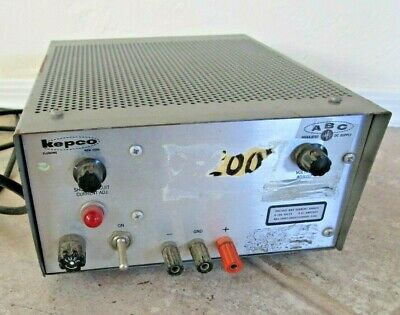 Vintage Kepco Abc Model 200 Tube Power Supply 0-200v -untested Parts Or Repair