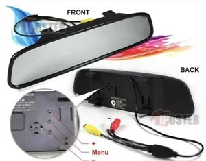 "CAR REVERSING KIT MIRROR HD WITH BUILT IN MIRROR SCREEN 4.3"" NIGHT Hallam Casey Area Preview"