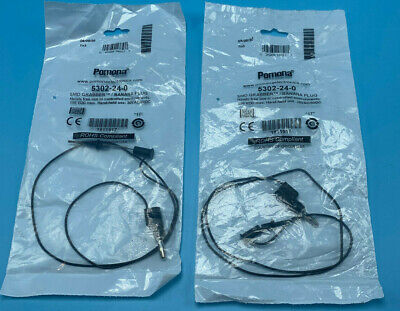Pomona 5302-24-0 Banana Jump Patch Cord Cable Connector Plug Lot Of 2