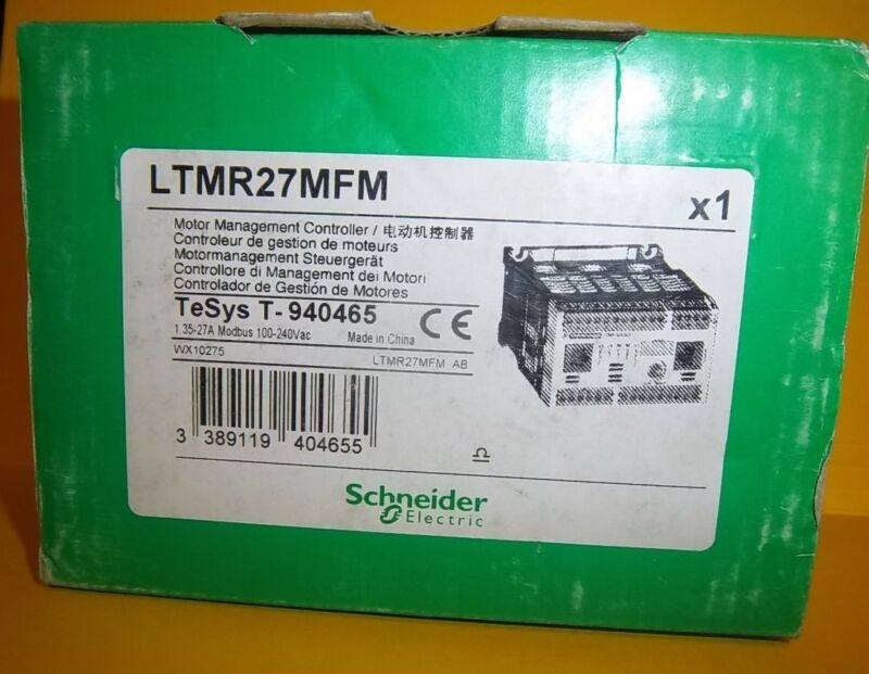 Schneider Ltmr27mfm  Motor Management Controller, 12 Month Warranty, Ships Today