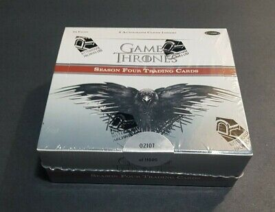 2015 Game Of Thrones Season 4 Trading Cards Factory Sealed Box 24 Packs GOT