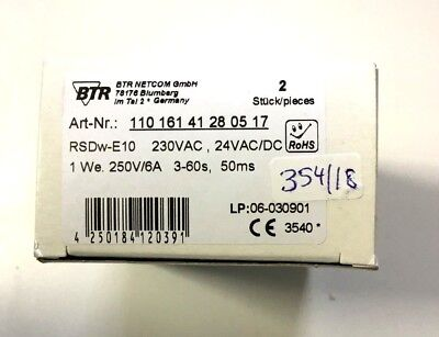 BTR Netcom RSDw-E10  11016141280517   2 Stück       relais            354/18