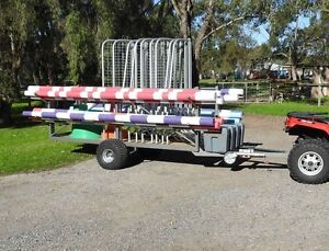 Equestrian Jumps and Trailer - FOR AUCTION !!! Baldivis Rockingham Area Preview