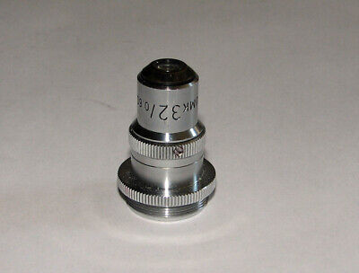 Leitz Microscope Umk 32x Objective For Use With Leitz Universal Stage