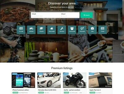 Premium Local Classified Ads Website Free Install Hosting Ssl