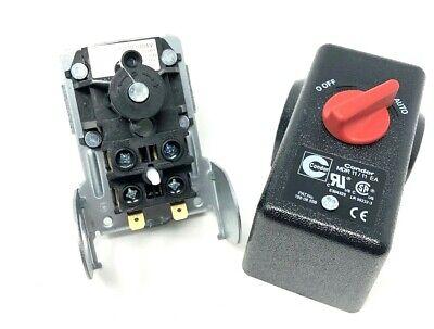 Pressure Switch Campbell Hausfeld Four Port 90 Deg Unloader 100 On 135 Psi Off