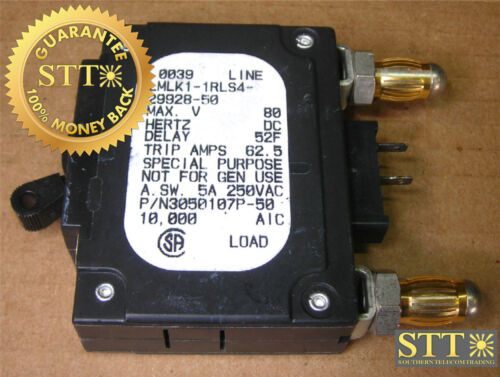 Lmlk1-1rls4-29928-50 Airpax 50 Amp Bullet Breaker