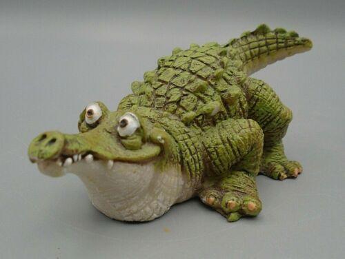 Humorous Alligator Crocodile Figurine