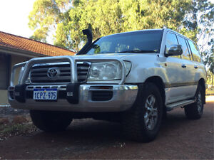 2007 Toyota Landcruiser 100 series GXL V8 Roleystone Armadale Area Preview
