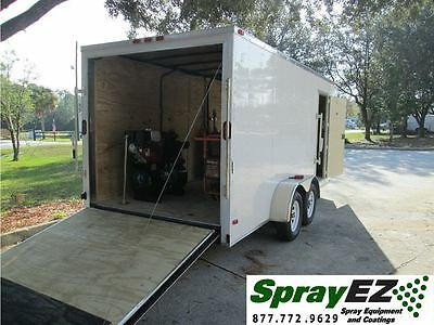 New Spray Foam Insulation Equipment Package Trailer Rig Life Time Warranty