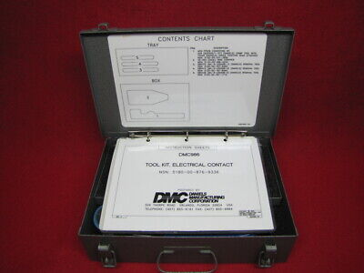 Dmc986 Electrical Contact Tool Kit As-is