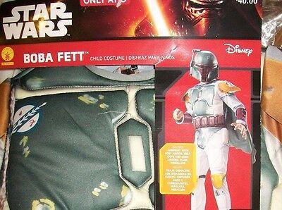 Children's Boba Fett Costume (Star Wars BOBA FETT Child Kids Halloween Costume Rubies 620141 S Small 4-6)