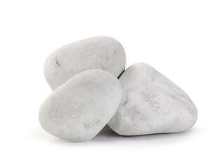 Ciottoli di marmo bianco carrara in sacchi sassi for Ciottoli bianchi