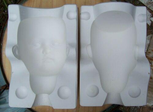 Doll Mold- Kentucky Extra Large Head Mold #1093