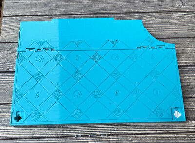 2012 Barbie Dream House Replacement Part Piece Right Teal Base Screws