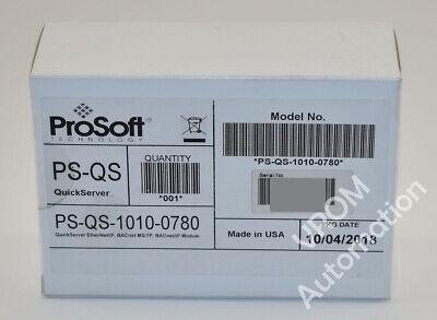New Sealed Prosoft Ps-qs-1010-0780 Serial Ethernet Quickserver Field Server