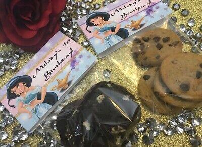 Princess Jasmine Birthday Party Supplies (PRINCESS JASMINE ALADDIN FAVORS LOOT FAVOR BAGS FAVORS BIRTHDAY PARTY)