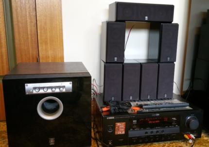 Yamaha surround sound/home theatre system