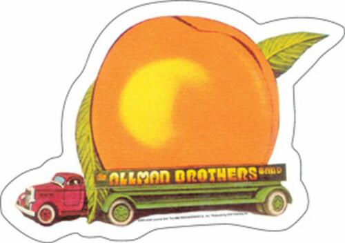 STICKER Allman Brothers Eat A Peach Truck Decal   Officially Licensed  B160