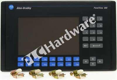 Allen Bradley 2711-k9a8 F Panelview 900 Monochrome Keypad Dhrs232 Ac