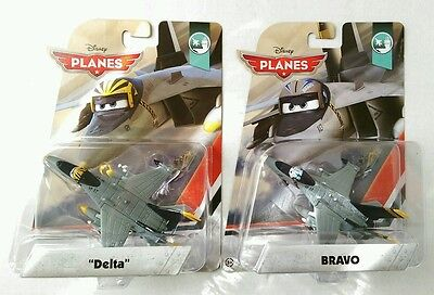 Disney Planes Bravo & Delta Die Cast Planes World of Cars
