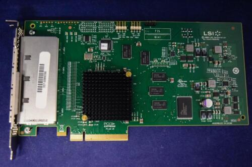 SAS9200-16E LSI 16-Port 6Gb/s PCI Express SATA+SAS Host Bus Adapter H3-25140-02D