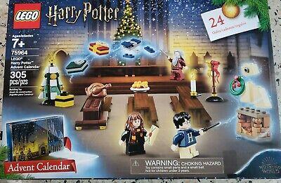 Lego 75964 Harry Potter Advent Calendar 2019 305 Piece Set New Sealed! Retired!