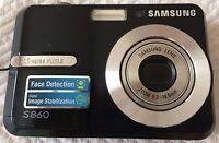 Fotocamera Samsung S860, Slim Nera, 8.1 Mega Pixels - samsung - ebay.it
