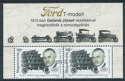 """Ungarn   2013  Mi. 5597  """"Ford T Model""""  KB Oberand      ** oder  O"""