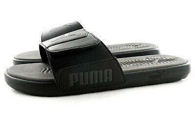 Mens PUMA STARCAT Slippers Flip Flops Sliders Sandals Black Blue UK 7 8 9 10 New