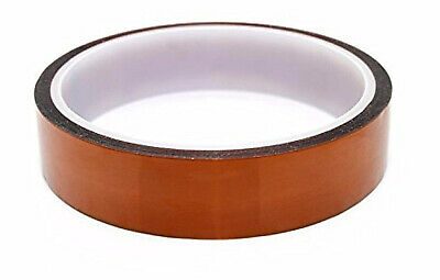 Merco Polyimide Film Tape 1in X 36 Yds - Use For Kapton - 6 Rolls