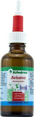 Rohnfried Avisana 50ml, Respiratory For Racing Pigeon, White Nose, Clean Throat