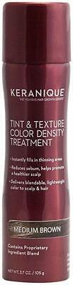 KERANIQUE TINT & TEXTURE COLOR DENSITY TREATMENT Pick~ Medium, Light, Dark Brown