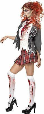 Smiffy's High School Horror Zombie Movie Schoolgirl Halloween Costume 32929